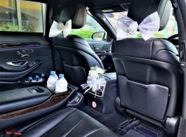 Mercedes wedding car hire in Chelsea